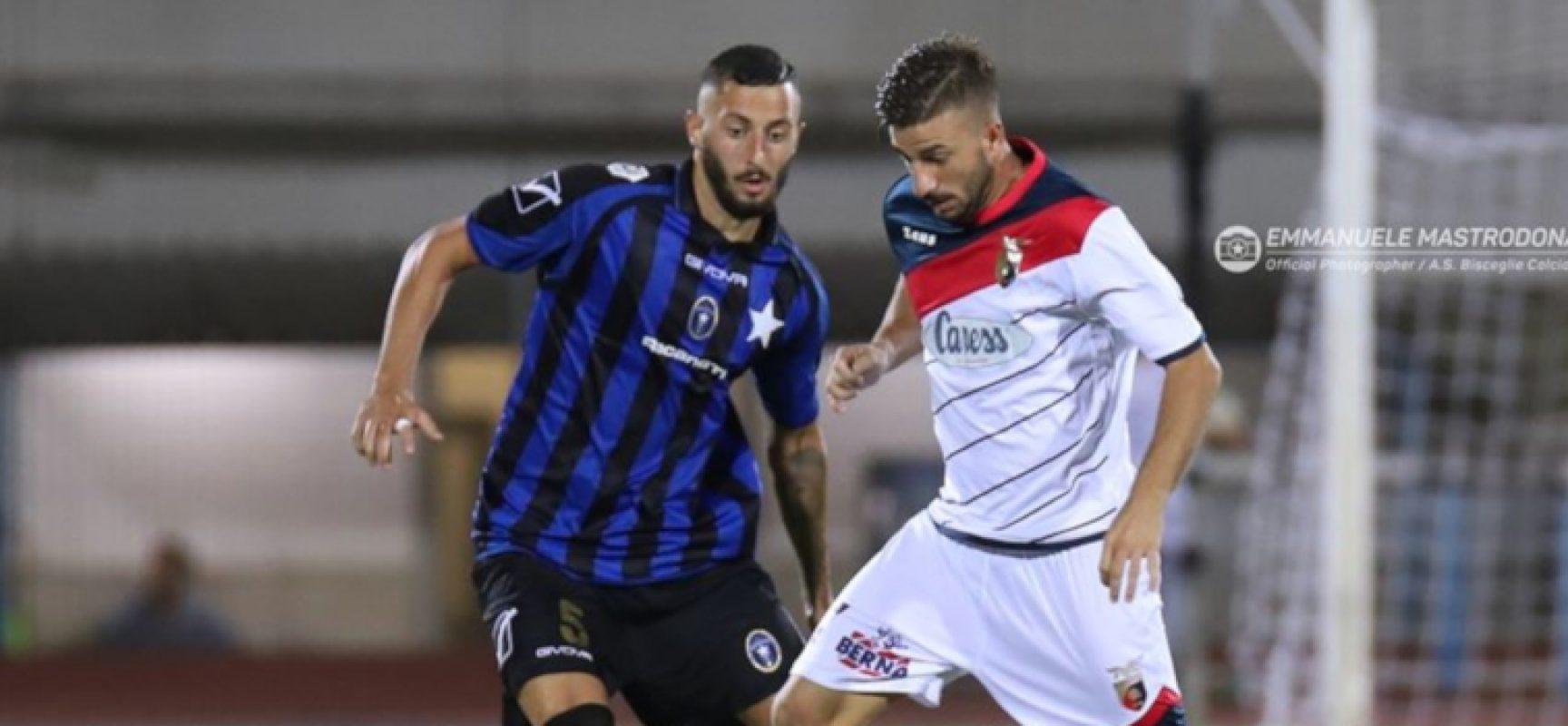 Il Bisceglie Calcio attende l'Avellino e cede Zigrossi al Fano