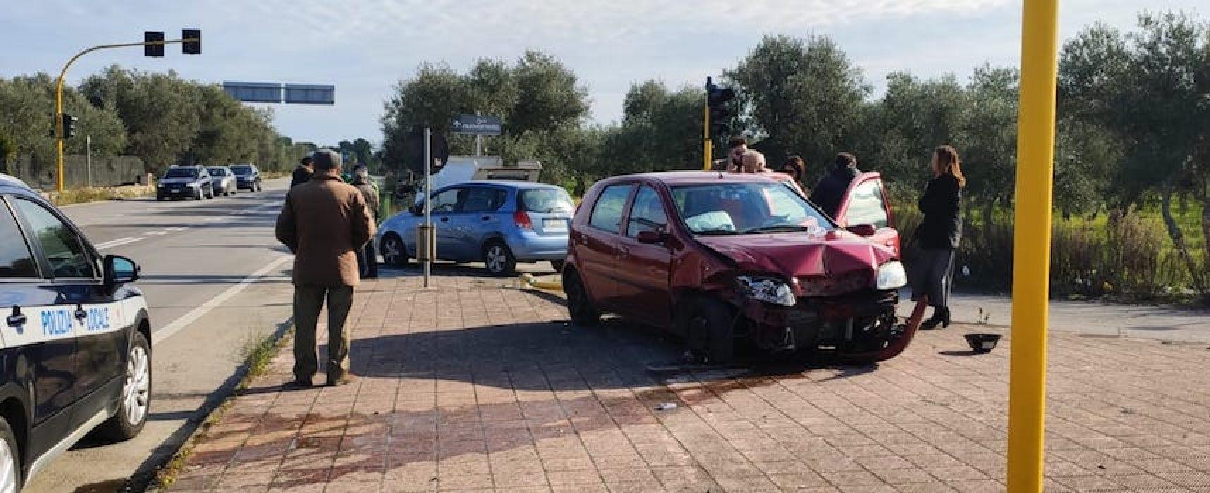 Incidente su via Imbriani, ferito un 70enne