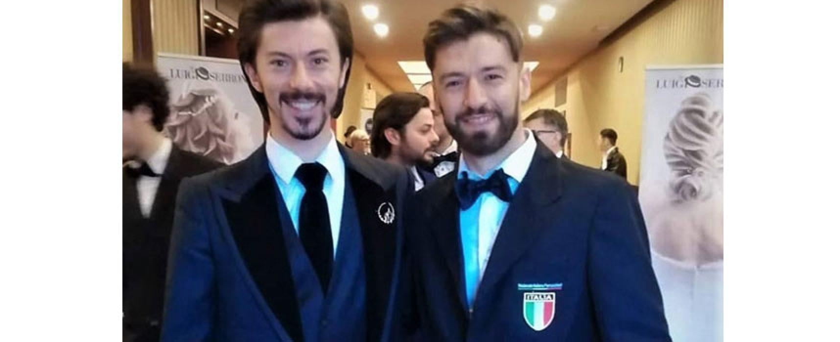 L'acconciatore biscegliese Leo Todisco in giuria al Campionato Italiano / FOTO