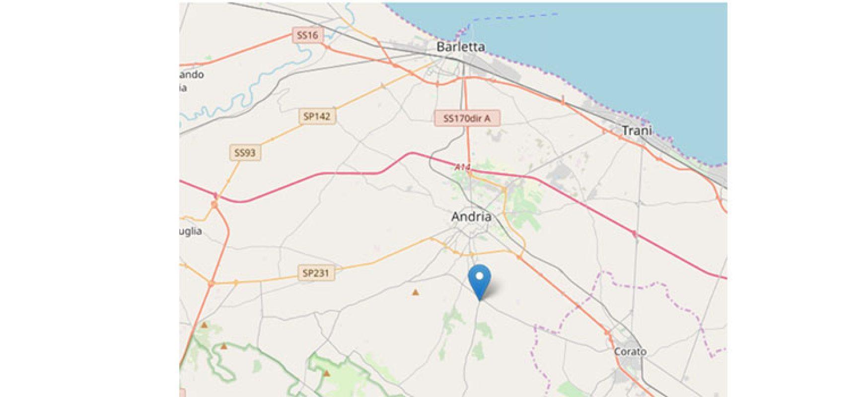 Scossa di terremoto ad Andria, avvertita anche a Bisceglie