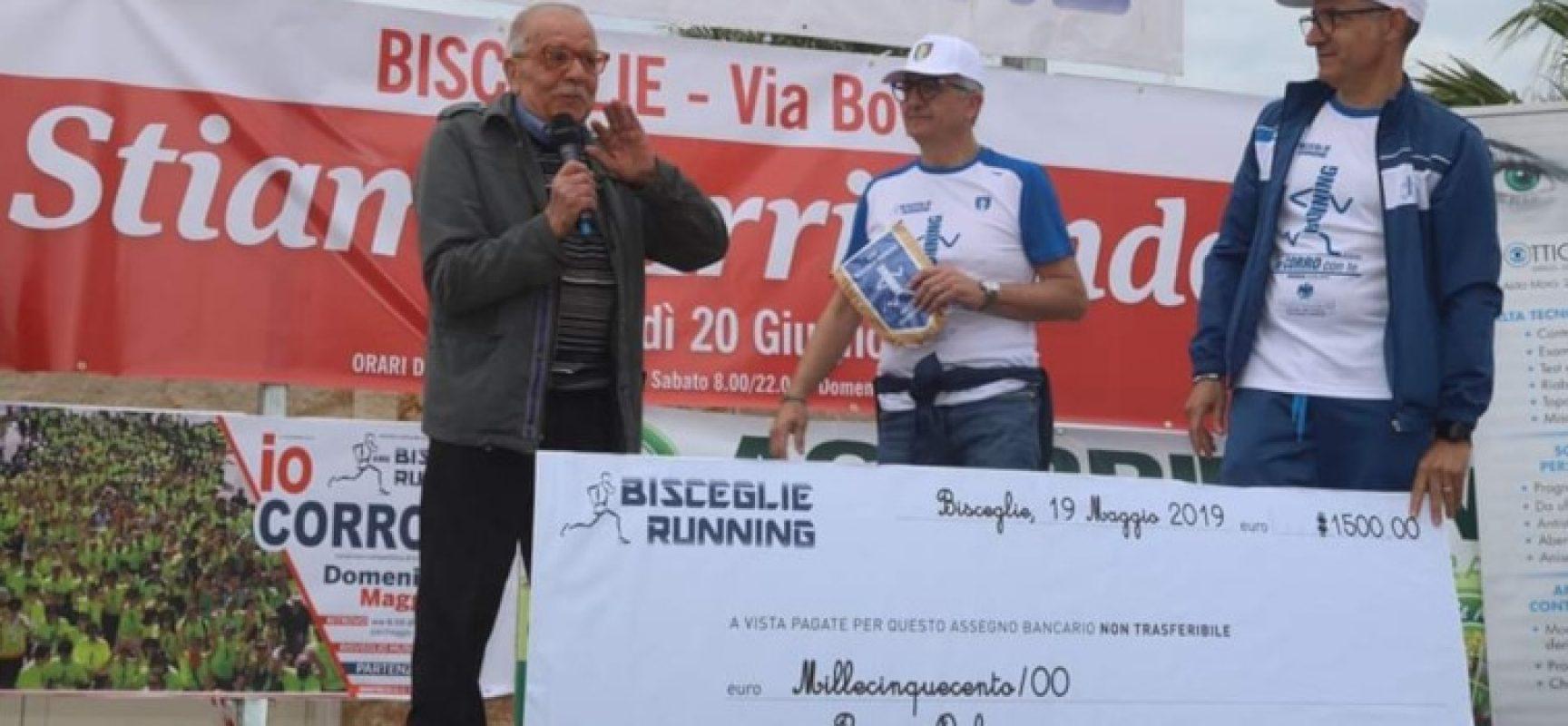 Bisceglie Running dona un laboratorio artistico all'Associazione Pegaso