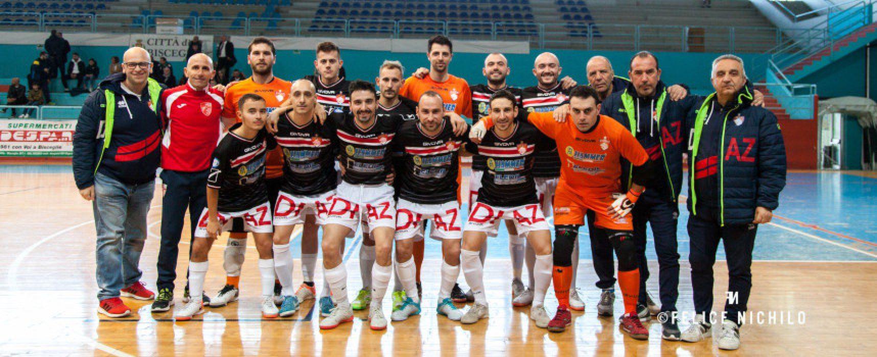 Diaz ospita L'Aquila, Futbol Cinco contro la vice capolista