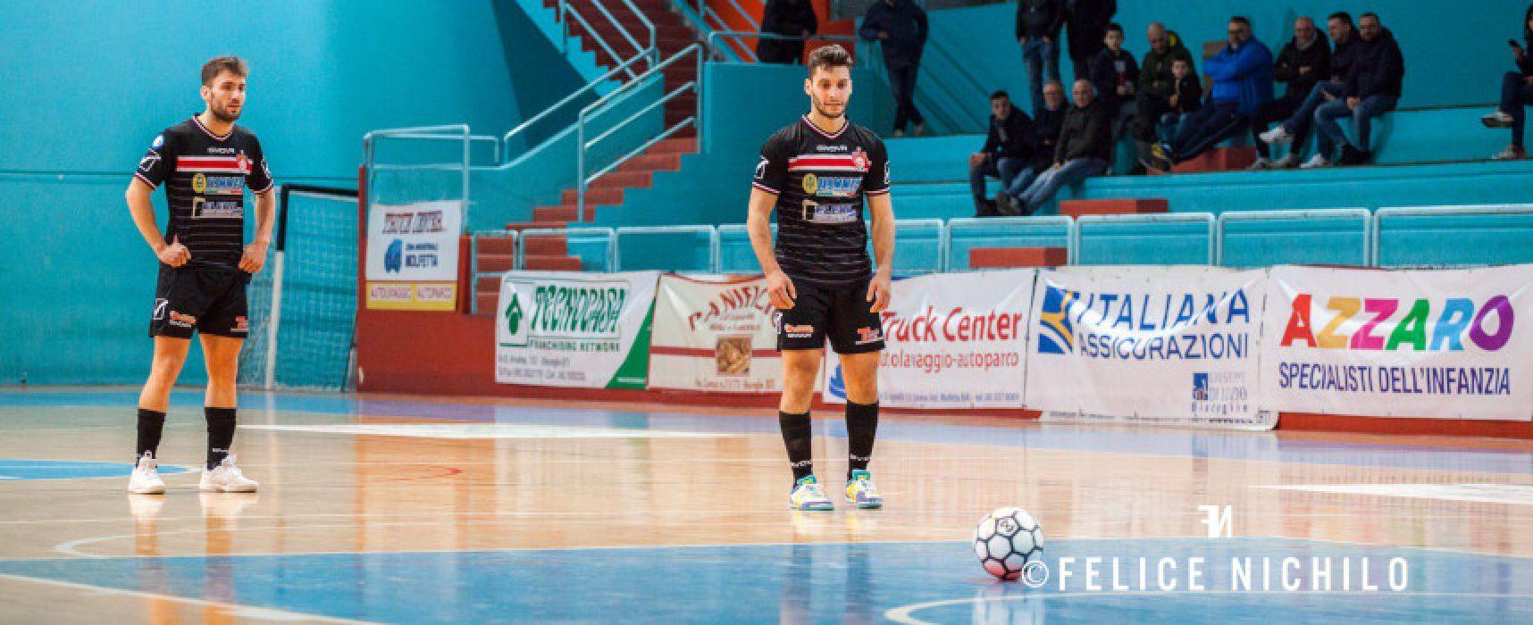 Impegno casalingo per la Diaz, derby per Cinco e Futsal Bisceglie