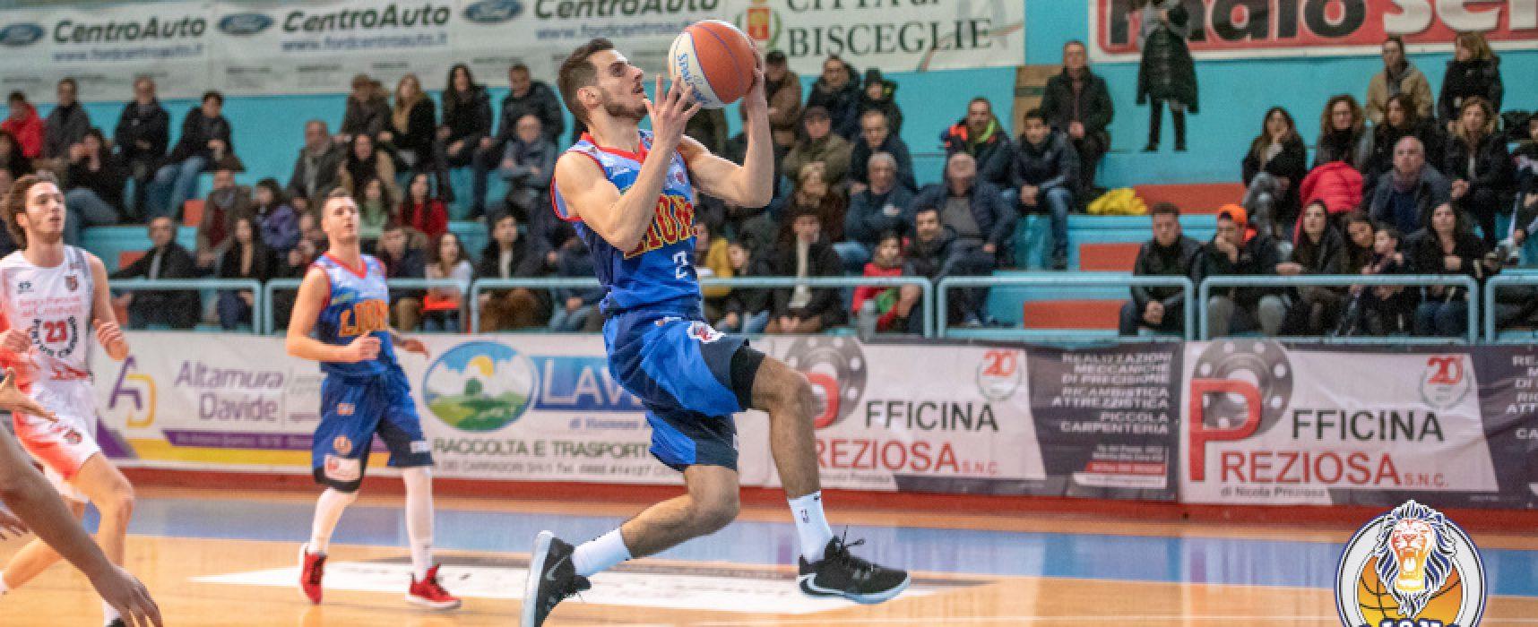 Lions all'esame vicecapolista Salerno