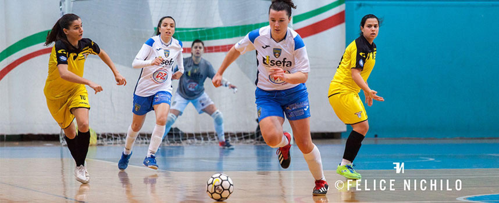 Serie A, Bisceglie Femminile ferma sul pari la Lazio