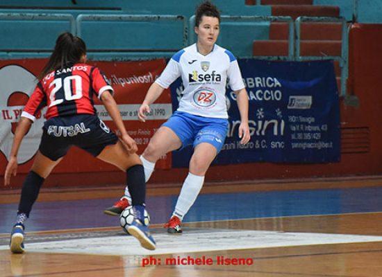 Bisceglie Femminile superato alla distanza dal Futsal Cagliari