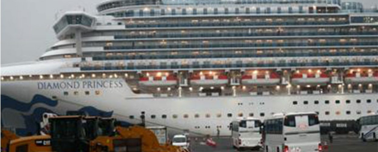 """Coronavirus su Diamond Princess, ufficiale biscegliese a bordo, """"Non abbandono il mio posto"""""""