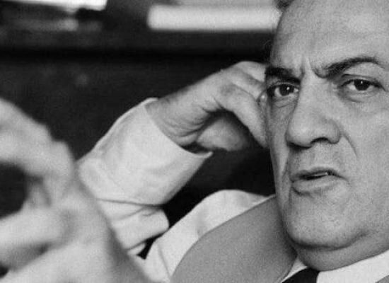 Oscar Iarussi a Bisceglie per presentare il suo libro dedicato a Federico Fellini