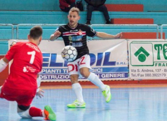 Vittoria importante per la Diaz, sconfitte per Cinco e Futsal Bisceglie