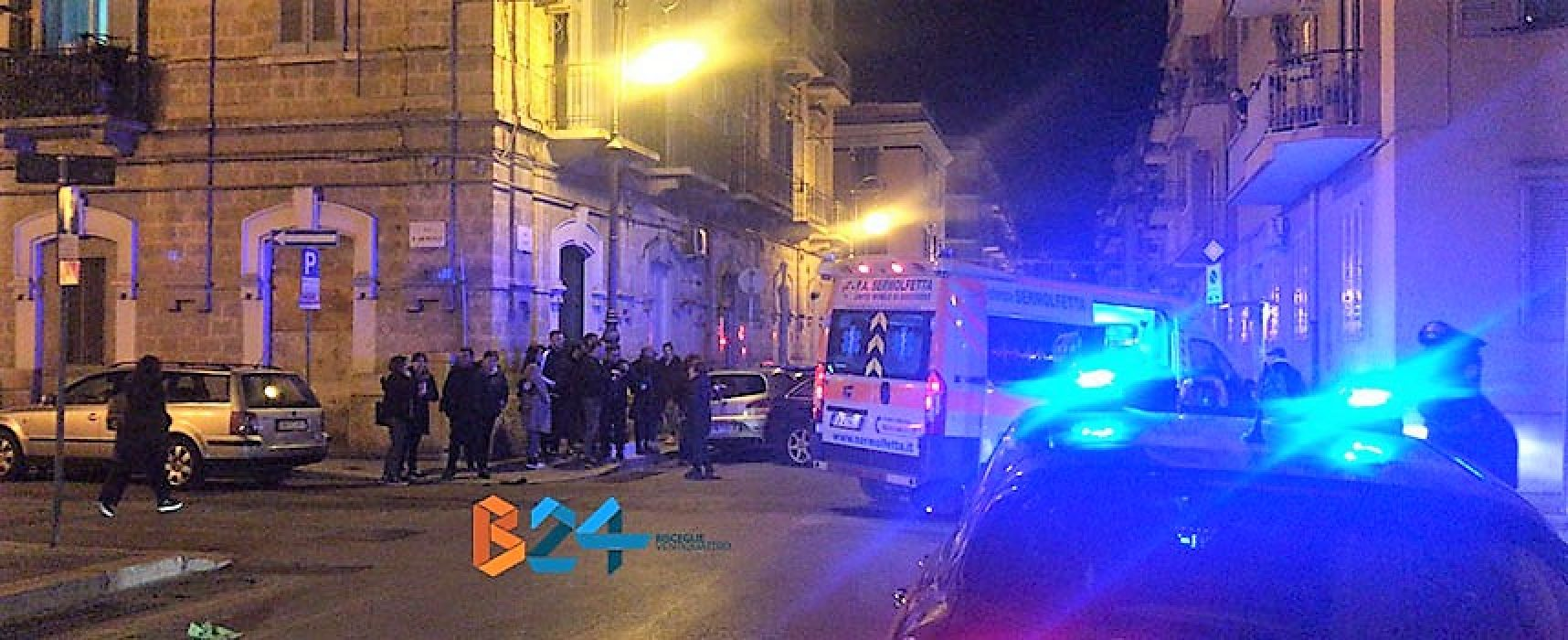 Incidente in via Piave, donna al pronto soccorso