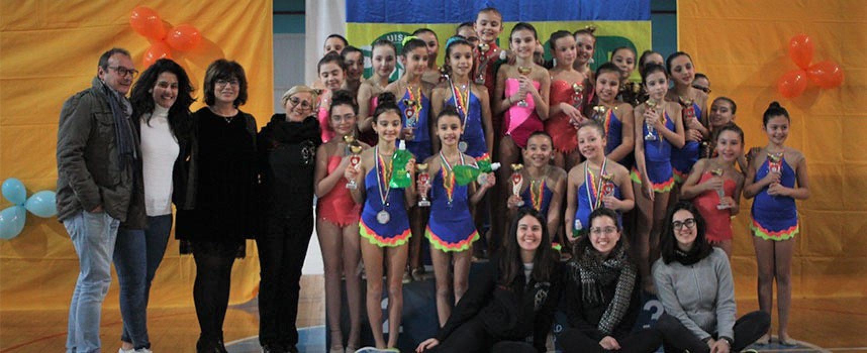 PalaDolmen gremito per il Trofeo del Sorriso di ginnastica ritmica / FOTO
