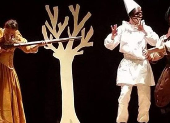 "Chiledren 84, al don Sturzo in scena: ""Pulcinella all'inferno"""