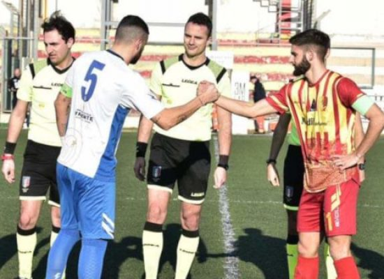 Pari all'ultimo respiro per l'Unione Calcio a Gallipoli