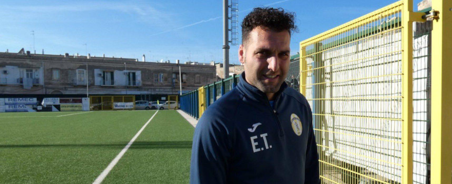 """Il Don Uva Calcio lavora a casa, Emanuele Troilo: """"Ora partita più importante da vincere"""""""