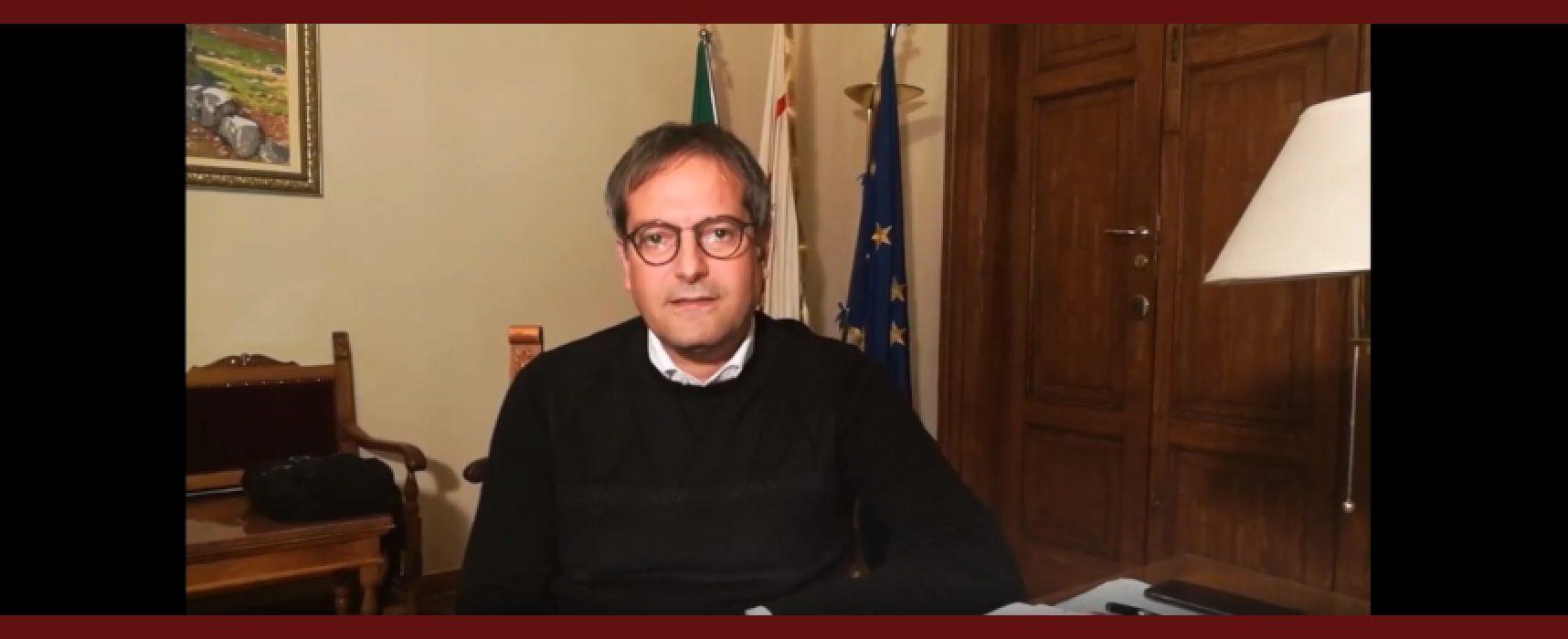 """Coronavirus, sindaco Angarano: """"Grazie a voi tutti per quello che state facendo"""" / VIDEO"""