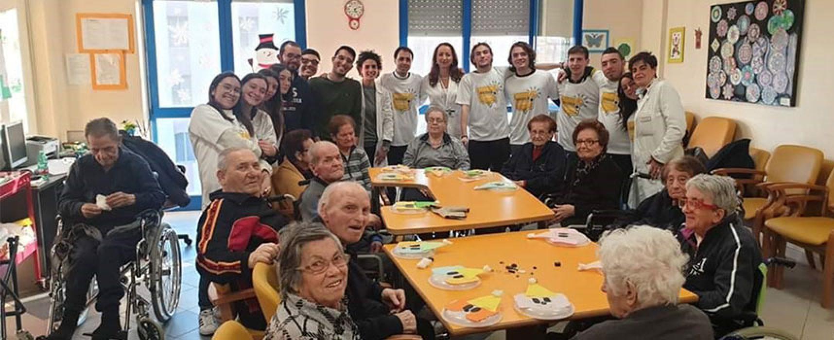 Bisceglie Illuminata, maratona della solidarietà parte con assistenza anziani
