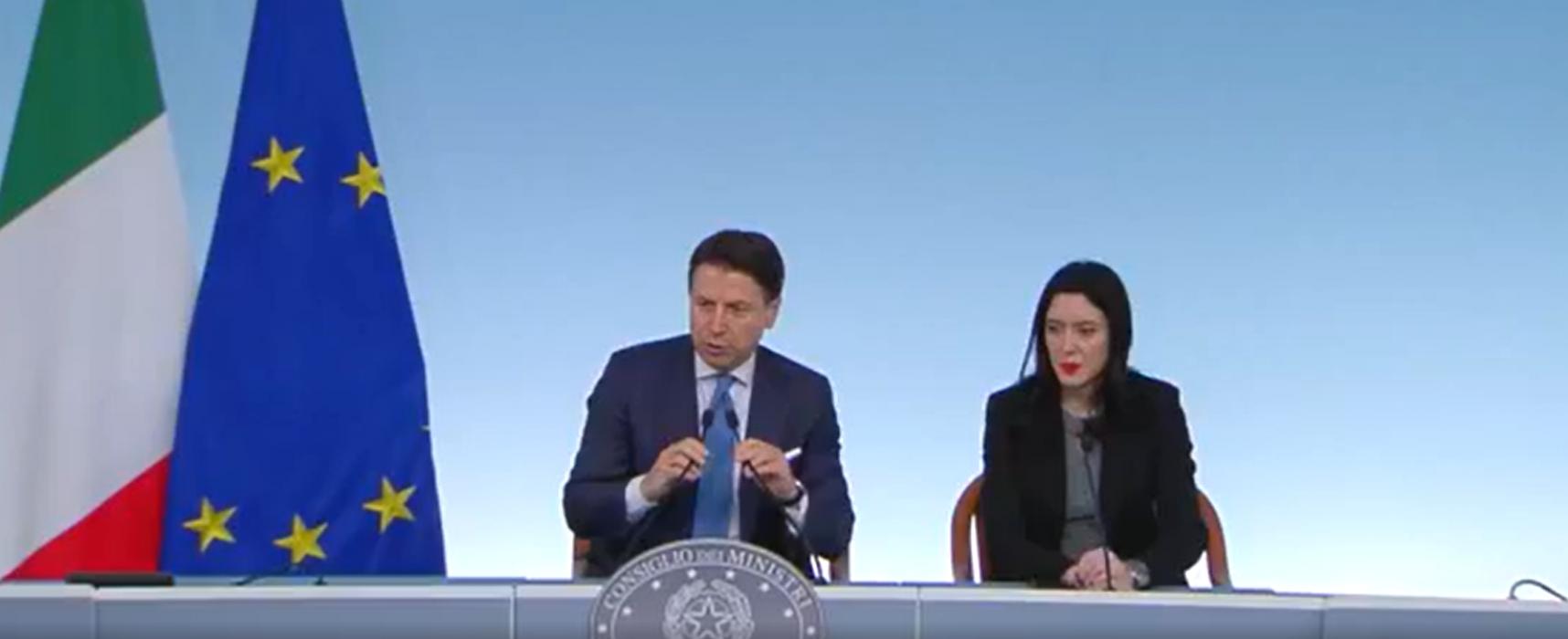 """Conte e Azzolina: """"Confermiamo chiusura scuole e atenei dal 5 al 14 marzo"""""""