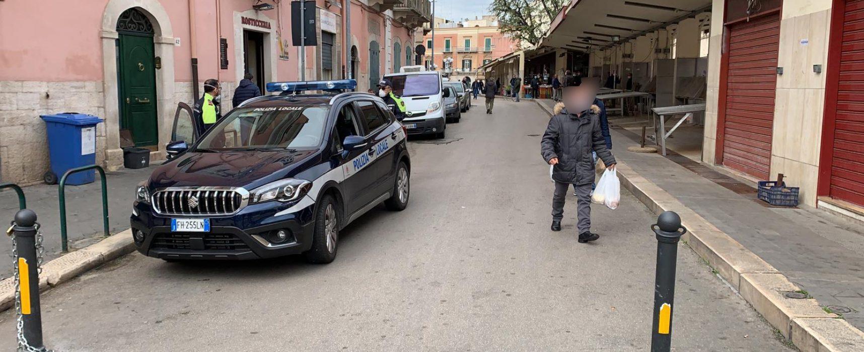 """Piazza del pesce riaperta da domani con """"accesso contingentato dei consumatori"""""""