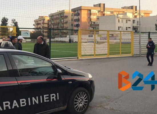 Sospesa la gara di Promozione tra Don Uva e Manfredonia