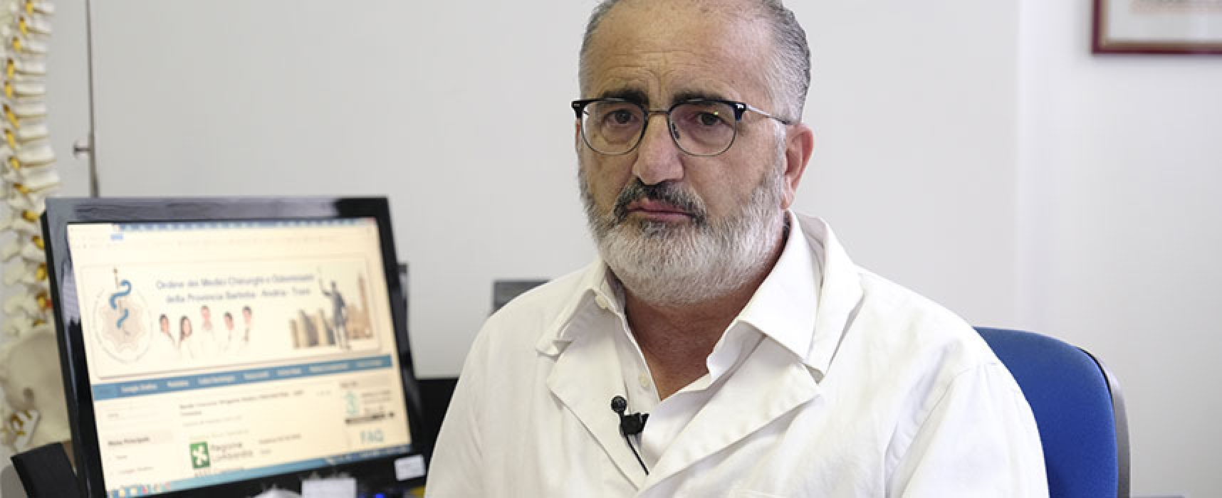 Dottor Delvecchio dona 500 mascherine di protezione ai medici della Bat