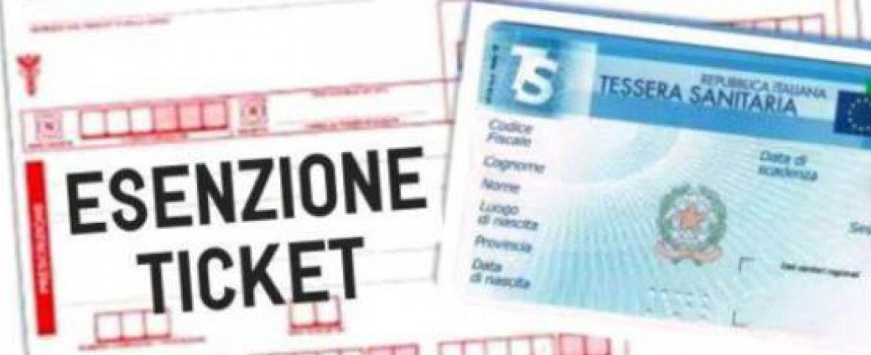 Sanità Regione Puglia: esenzioni ticket per reddito, prorogati i termini / DETTAGLI
