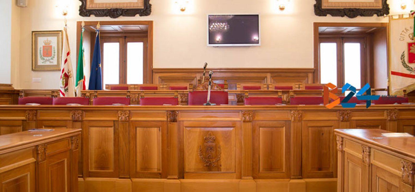 Consiglieri d'opposizione chiedono Consiglio Comunale da svolgere a Palazzo San Domenico