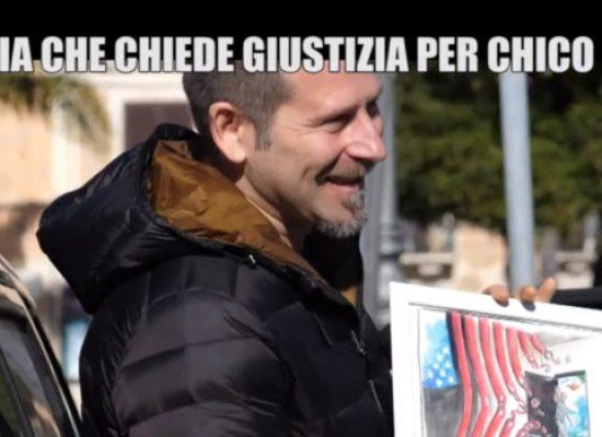 L'artista biscegliese Domenico Velletri a Le Iene per chiedere giustizia per Chico Forti