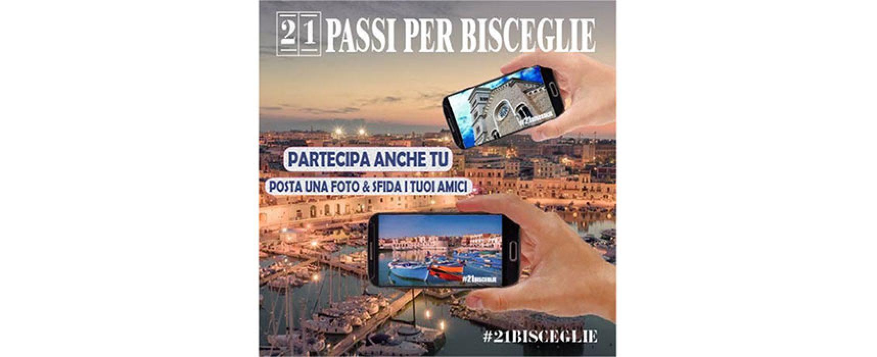 """Partita la challenge fotografica """"21 Passi per Bisceglie"""""""