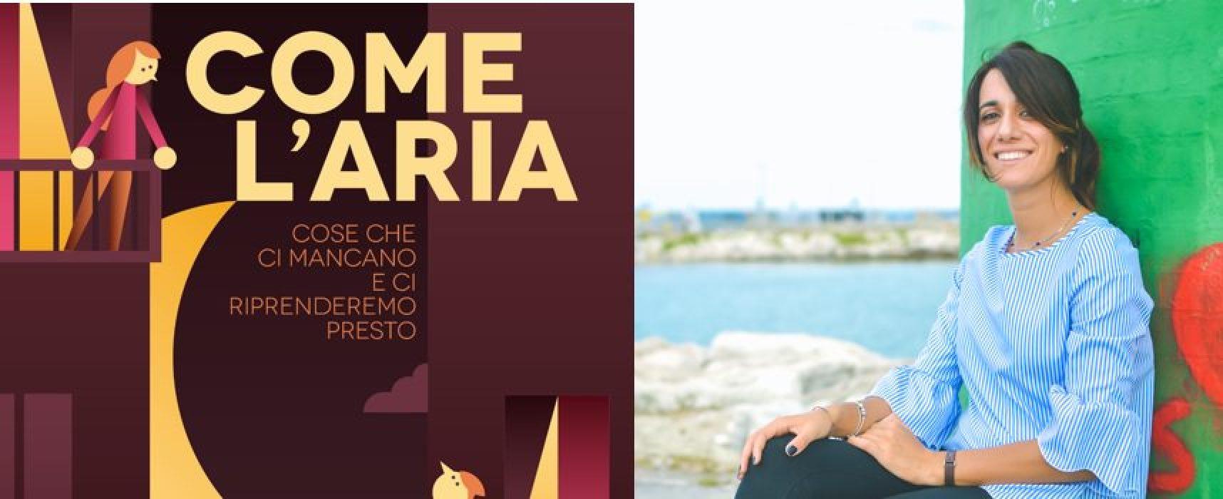 La biscegliese Cristina Soldano tra i creatori di un ebook corale: il ricavato alla Protezione Civile