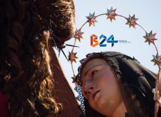 Settimana Santa, l'Incontro del Venerdì Santo tra Maria e Gesù trasmesso in replica da Bisceglie24