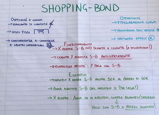 Giovane biscegliese propone creazione Shopping-Bond per aiutare attività commerciali / VIDEO