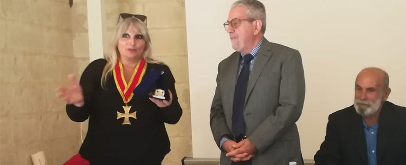 Club per l'Unesco Bisceglie presenta libro di Pompeo Maritati