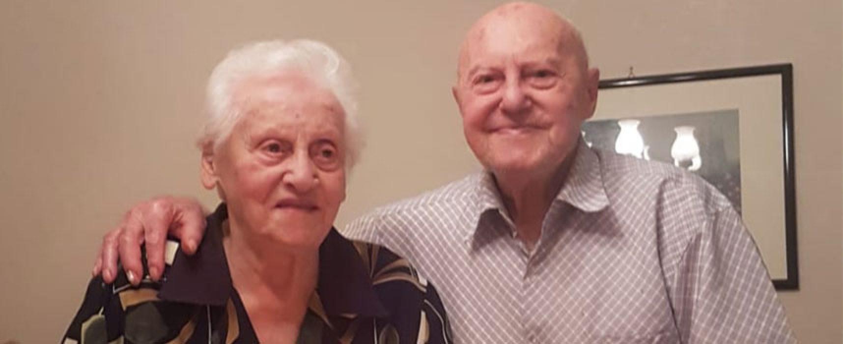 Emergenza Covid-19, Coppia biscegliese festeggia 70 anni di matrimonio lontano dagli affetti