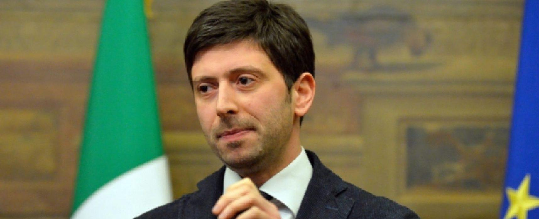 """Coronavirus, Ministro Speranza: """"Si va verso conferma misure restrittive fino al 13 aprile"""""""