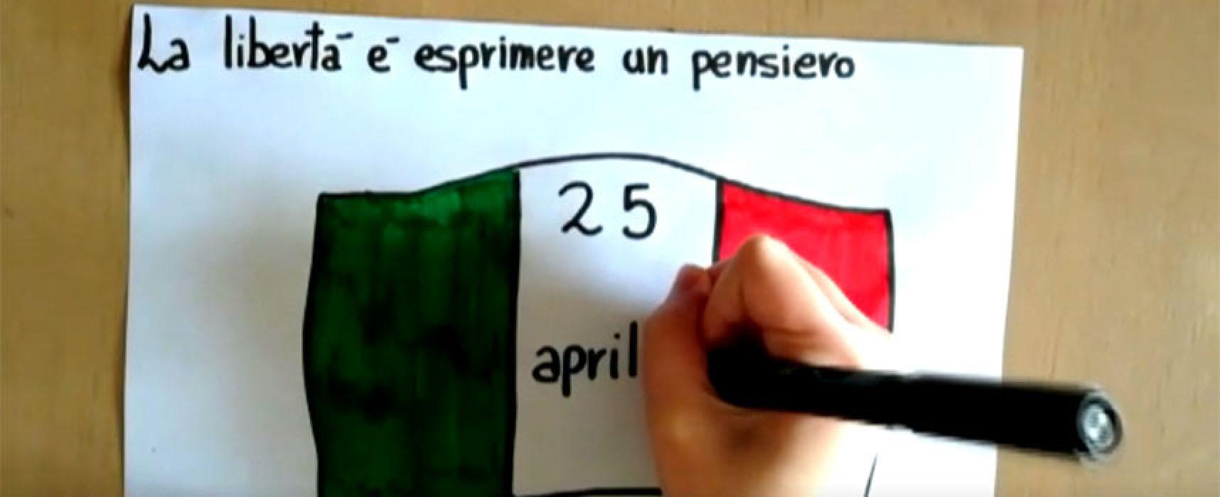 Anniversario Liberazione, Sindaco Angarano invia VIDEO a studenti scuole elementari e medie