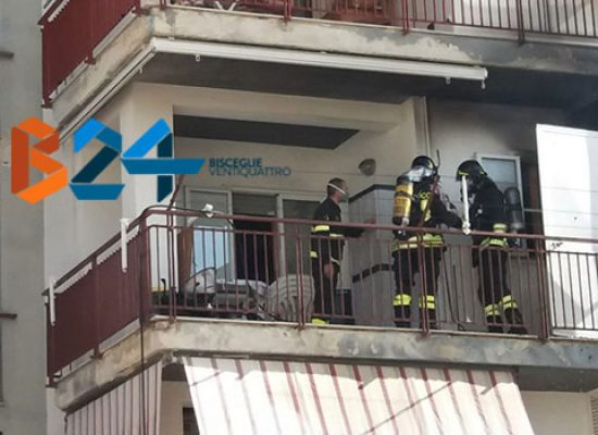 Incendio in zona Cittadella, sgomberato momentanemente lo stabile