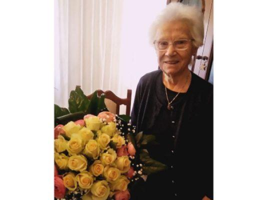 Compleanno speciale: 100 anni di nonna Grazia, gli auguri del sindaco di Bisceglie Angarano
