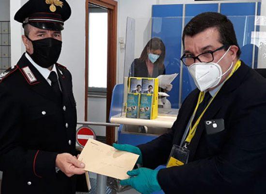 Carabinieri consegnano ad 88enne pensione a domicilio, partito ufficialmente il servizio