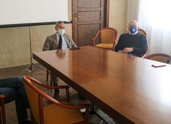 """Sindaco Angarano in visita al Don Uva: """"Per verificare la situazione con i vertici societari e sanitari"""""""