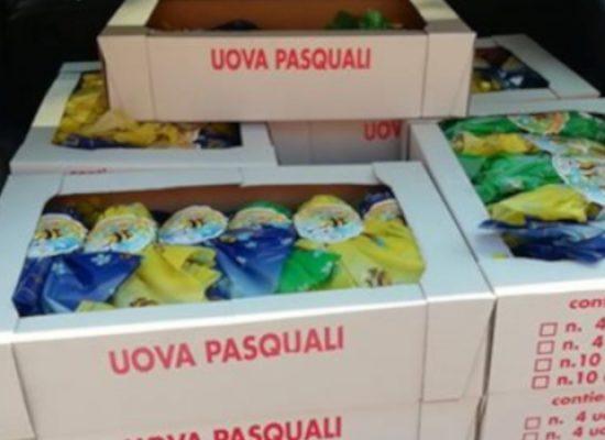 Solidarietà, confezionista biscegliese dona 100 uova di Pasqua alla Protezione Civile