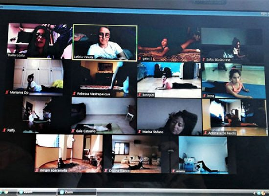 Iris Bisceglie: video lezioni online in attesa di tornare in palestra