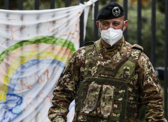 Contingente di trenta militari da domani nella Bat per controlli anti-assembramento