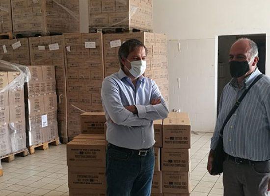 """Da Banco opere di Carità recuperati quintali di cibo per Caritas. Angarano: """"Tutti uniti a supporto comunità"""""""