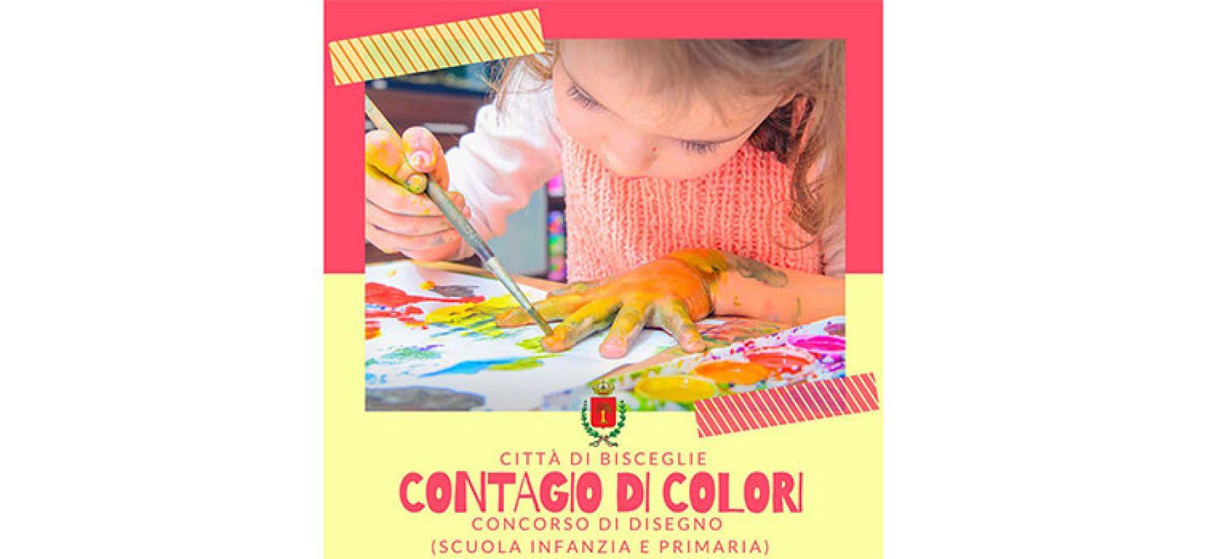 """Prorogato al 31 maggio il concorso per bambini """"Contagio di colori"""""""