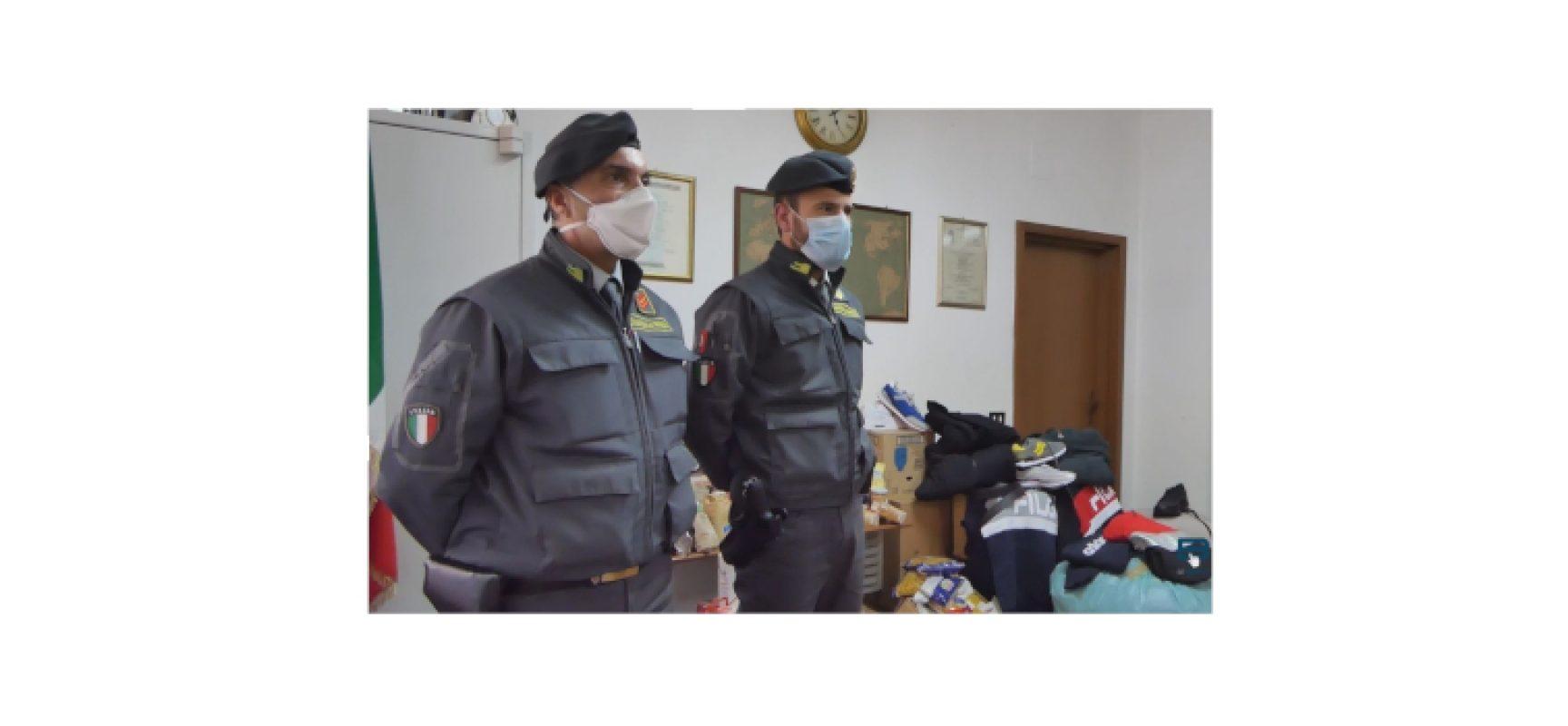 Guardia di Finanza dona capi di abbigliamento a Caritas di Bisceglie