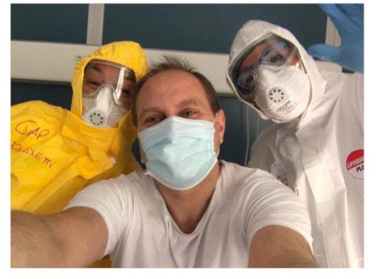 Biscegliese guarito da coronavirus e dimesso dopo 45 giorni da un ospedale romano