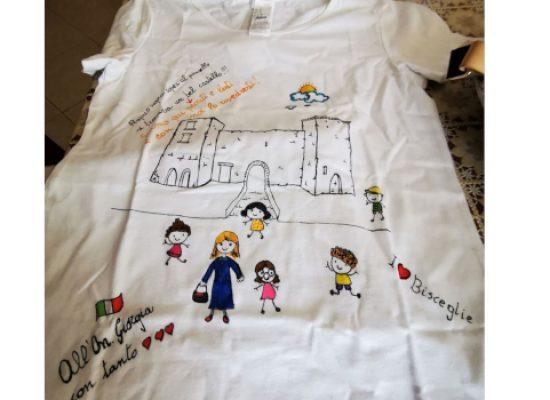 """Docenti biscegliesi regalano maglia a Giorgia Meloni, Galantino (FdI): """"Storia locale nelle scuole"""""""