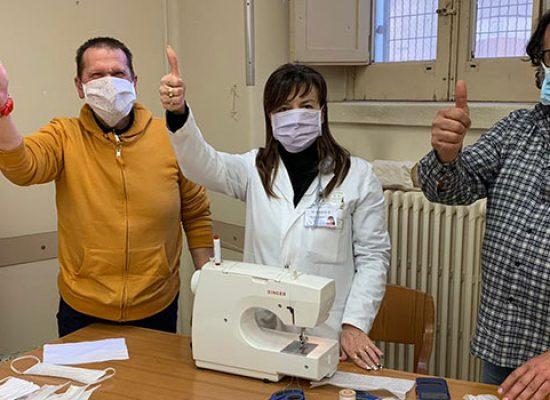 Universo Salute: oltre 2000 mascherine confezionate da operatori di Bisceglie