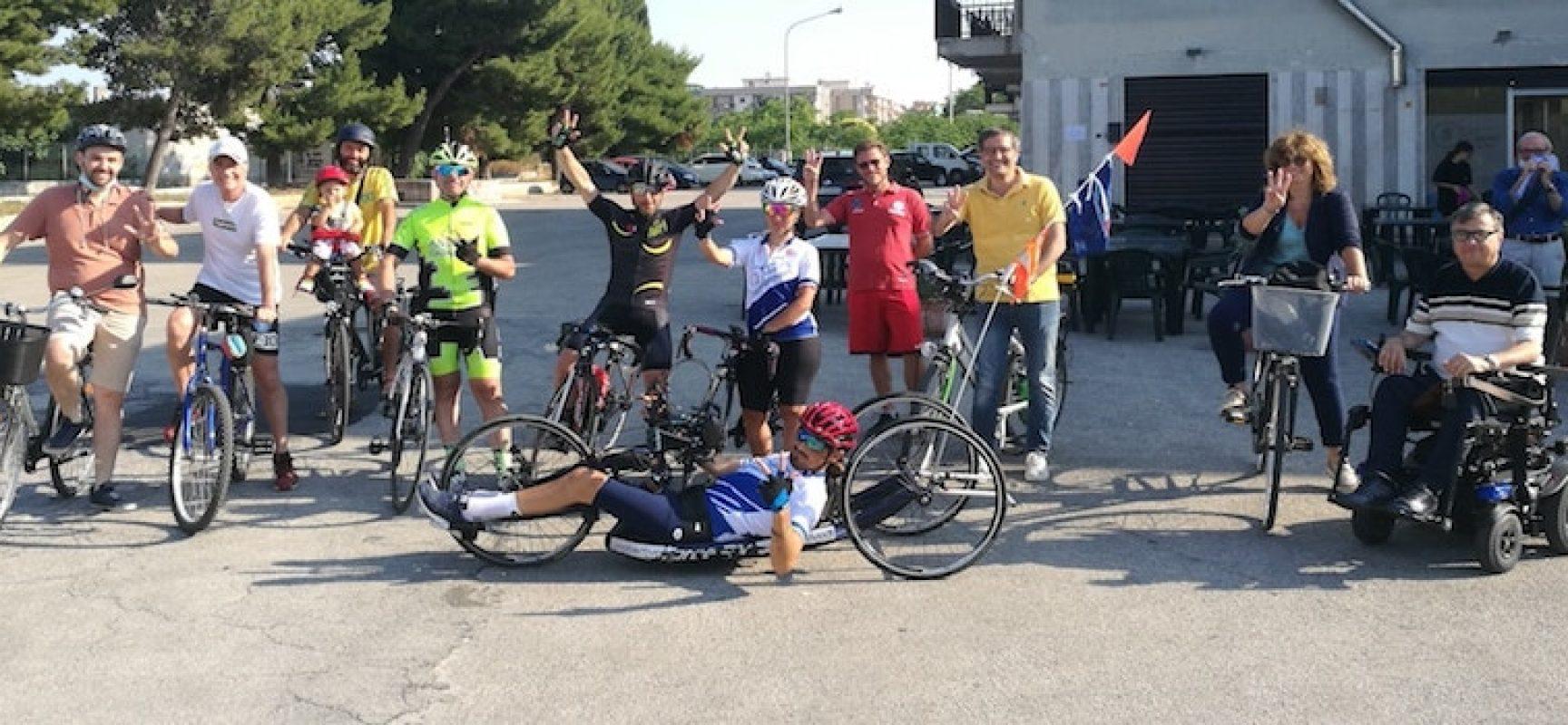 """Obiettivo TriColore arriva a Bisceglie, il sindaco: """"Grande emozione"""" / FOTO"""