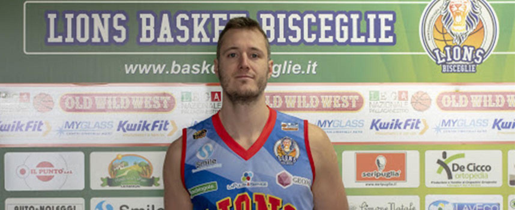 Lions Basket, Filiberto Dri non indosserà più la casacca nerazzurra